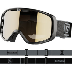 Salomon Aksium Access Lunettes De Protection, black/grey